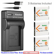 NP-BN1 BC-CSN Battery or Slim Charger for Sony Cyber-shot DSC-W610 W620 W630 TX1