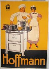 Original Plakat - Hoffmann Aesch - Kochherd