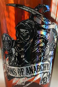 Sons of Anarchy Lot Of 2 SAMCRO 16oz Pint Glasses Redwood Original