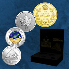 Canada - State of the Art Set - 7,6 $2018 Silver Silver - Invoation Set