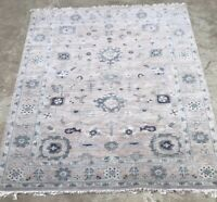 Oushak Hand knotted Tribal Oriental Area Rug Fine Wool In Mauve 10x8
