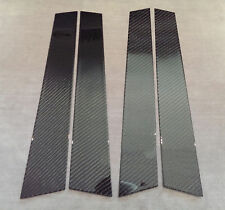 4PC 2X2 TWILL CARBON FIBER PILLAR PANELS COVER FOR 94-97 ACCORD SEDAN WAGON