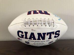 Jason Pierre Paul Signed / Auto New York Giants Super Bowl Football JSA