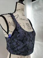 Joy Lab Womens Black Medium Support Activewear Crossback Sports Bra Size XL