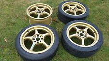 JDM Rays Gram Lights 57C 4x114.3 Track wheels SCCA