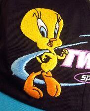 TWEETY BIRD baseball hat Looney Tunes 1997 cap Sport Circuit turquoise NWT toon