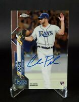 2020 Topps Chrome - COLIN POCHE - ON CARD AUTO ROOKIE RC #RA-CPO - Rays 🔥