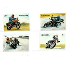 Grenada - 1985 - Motorcycles - Set Of 4 Stamps - Mnh