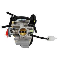 24mm Electric Choke Carb Carburetor GY6 125cc 150cc Quad Dirt Bike ATV Buggy