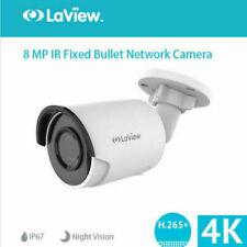 4K HD 8MP Bullet IR Outdoor POE IP Network Security Camera 4mm Lens H.265 IP67