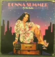 Donna Summer ‎– On The Radio - Greatest Hits Vol. I & II LP - 1979 - With Poster