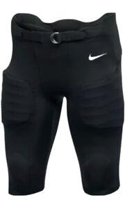 Nike Recruit 3.0 Compression 7-Pad Football Pants (Big Kids/Boys) Black Sz Large