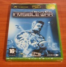 JEUX XBOX Deus Ex INVISIBLE WAR neuf blister
