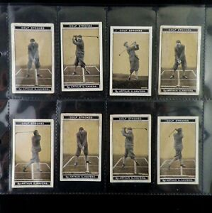 Golf Strokes Series Cigarette Cards by B Morris Issued 1923 Pick Your Card