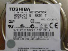 120 GB Toshiba MK1252GSX HDD2H04 E UK01 T / LV010J /G002217A 2,5 Zoll Festplatte