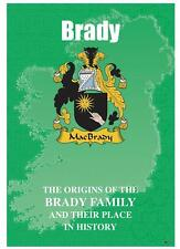 Brady Irish Family Name History Booklet Covering the Ancestry of this Name