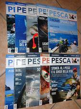 Opera Full 10 Magazines Fishing Magazine Passione-Tecnica-Stile Of Waist Sky
