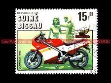 HONDA NS 250 R 1984 NSR - Guiné BISSAU - Guinée BISSAO : Timbre Poste Moto