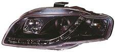 Audi A4 B7 05-09 Black Projector Headlights LED Bar & DRL indicators - AU19L29S