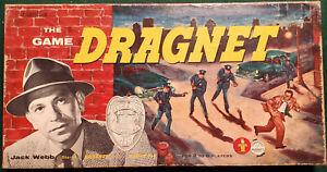Vintage1955 Transogram Board Game ~ The Game of Dragnet