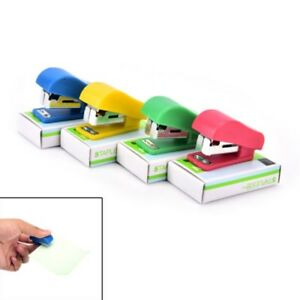 Cartoon Mini Office Student Paper Document Stapler With Staples School Home New