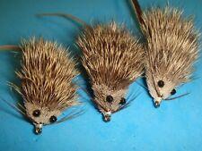 New ListingFly Fishing Flies - Natural Mouserat size #10* (3 ea.)