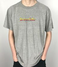 Vintage FREERIDE Skateboards T Shirt | Skate Retro Classic | Large L Grey