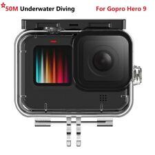 Für GoPro Hero 9 Schwarz 50M Wasserdichtes Unterwassertauchen Schutzhülle Gehäus