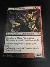 MTG MAGIC SHADOWMOOR FULMINATOR MAGE (FRENCH MAGE FULMINATEUR) NM