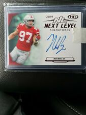 Nick Bosa SAGE HIT Next Level Signatures AUTO 2nd Overall Pick.