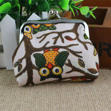 High quality Fashion Women Lovely Style Lady Small Wallet Hasp Owl Purse