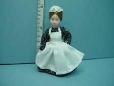 """Miniature Young Woman Dh Doll """"Minna"""" #24790 Handcrafted, Erna Meyer 1/2"""""""