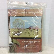 Paragon Needlecraft Creative Stitchery Crewel Embroidery Kit Country Road