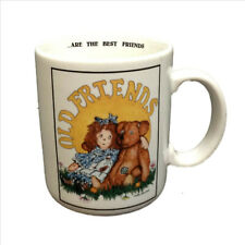 Old Friends Are The Best Friends Coffee Chocolate Mug Cup 8oz