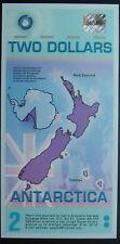 Antarctica $2 Polymer Paper Money 01-Sept-2008 UNC
