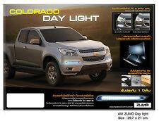 HOLDEN COLORADO CHEVROLET Z10 DAYLIGHT DRL 2012 2013 2014 BLACK