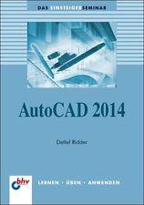 AutoCAD 2014 von Detlef Ridder (2013, Taschenbuch)