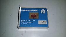 Sony Nd 504 Quality Stylus 980 Bandridge Replacement Needle Turntable