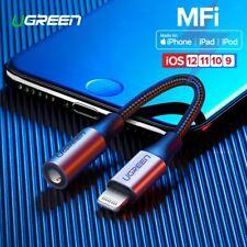Ugreen MFI Lightning auf 3.5mm Adapter Audio Aux Kabel Splitter für iPhoneX XR 8