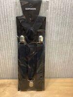 Unisex Braces Clip On Suspenders Elastic Y-back Fancy Dress Men Woman NEW