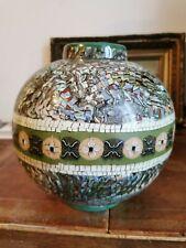 Grand Vase Boule  Gerbino À Vallauris Très Rare