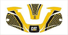 MILLER digital ELITE 257213 titanium WELDING HELMET WRAP DECAL STICKER cat