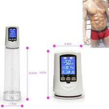 Electric Beginner Penis Enlarger Pump Bigger Growth Enlargement Enhancer Helper