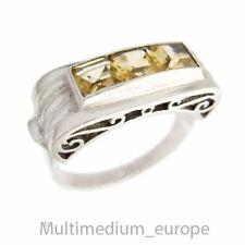 Art Deco Silber Ring Citrin filigran silver ring gold topaz filigree 🌺🌺🌺🌺🌺