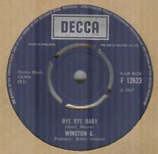 WINSTON G**BYE BYE BABY**MOD**DANCER**THE DECCA LABEL**HEAR IT