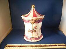 "Delightful Carousel Horse ""Carousel Waltz"" Cannister Music Box"