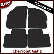 Chevrolet Matiz (2005 2006 2007 2008 ...) Tailored Fitted Carpet Car Mats GREY