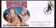 George The Animal Steele Wrestling Legends Souvenir Cover