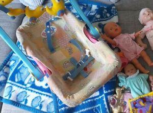 Baby Born  Trageschale  Autoschale  Autositz  Puppensitz Schwimm Baby Annabell