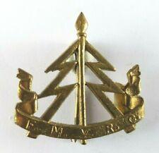 Malay States Volunteer Reconnaissance Cap Badge British Colonial - Pin To Rear